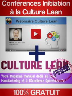 Cliquez sur l'image pour recevoir une Initiation Lean (valeur 297€) GRATUITE + Culture Lean Free, le magazine mensuel du Lean